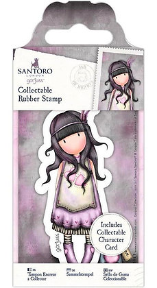 Gorjuss Stamp Jar Of Hearts  No.50