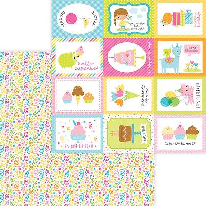 Birthday Bash Pattern Paper