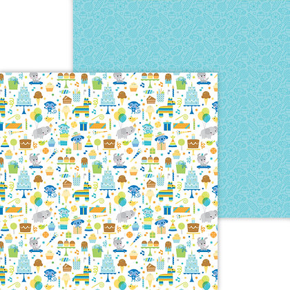 Party Time Pattern Paper