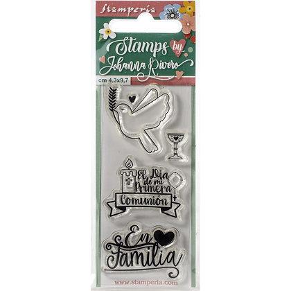 Cling Stamps En Familia X Johanna Rivero