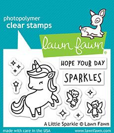A littlesparkle stamp and die