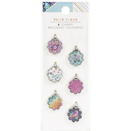 Paige Evans Go The Scenic Route Charms 6/Pkg