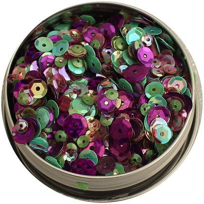 28 Lilac Lane Tin W/Sequins 40g Violet Blossom