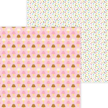 Sugar Cones Pattern Paper