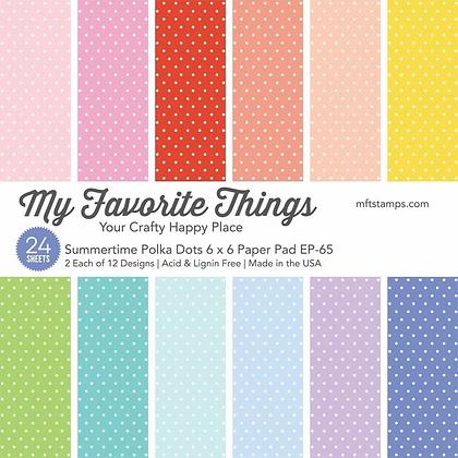 Summertime Polka Dots Paper Pad