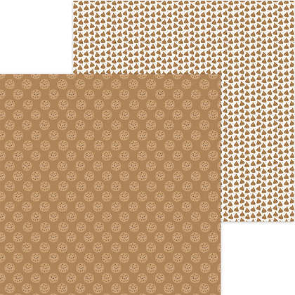 Chocolate Chippers doble cara cardstock