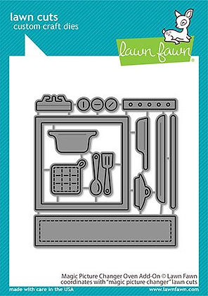 Magic picture changer oven add-on