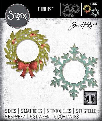 Wreath & Snowflake