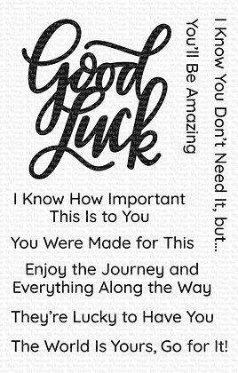 Good Luck Greetings WS