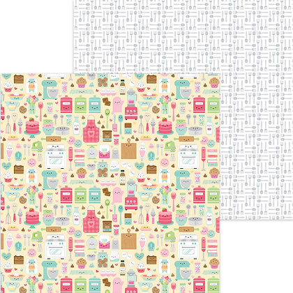 Made with love doble cara cardstock