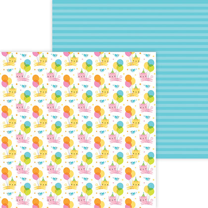 Party Purrrfect Patter Paper