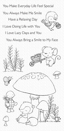 SY Always Bring a Smile Combo Die and Stamps