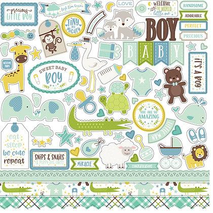 Element Stickers Sweet Baby Boy