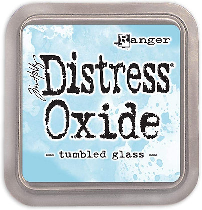 Tim Holtz Distress Oxides Ink Pad Tumbled Glass