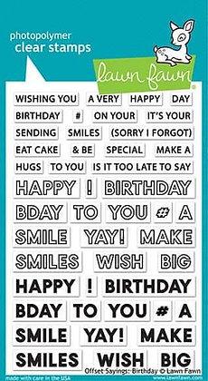 Offset Sayings: Birthday