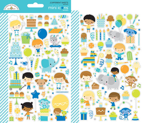 Party Time Mini Icons