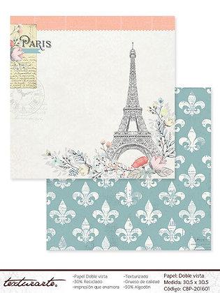 Bonjour Paris Papel