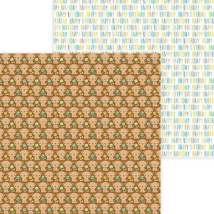 Playful Puppies Pattern Paper