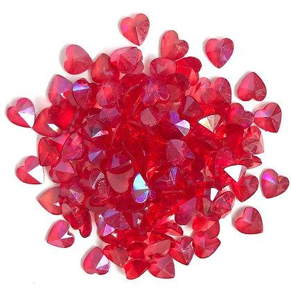 Sparkletz Embellishment Pack 10g Red Hearts