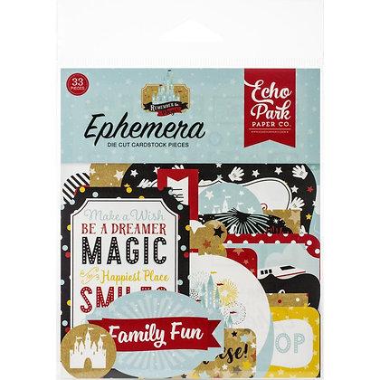 Remember The Magic Ephemera Icons