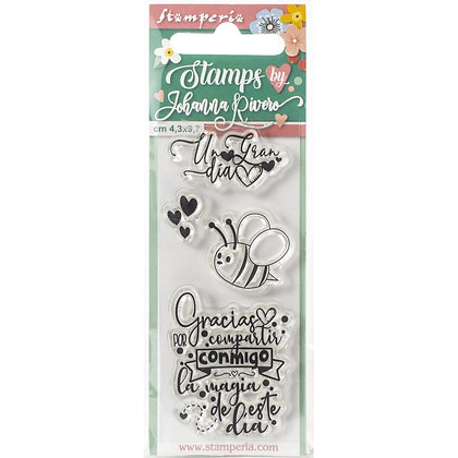 Cling Stamps Bee X Johanna Rivero
