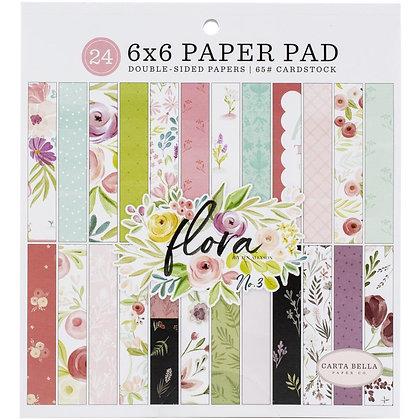 """Flora No. 3 Pad 6""""x6"""""""