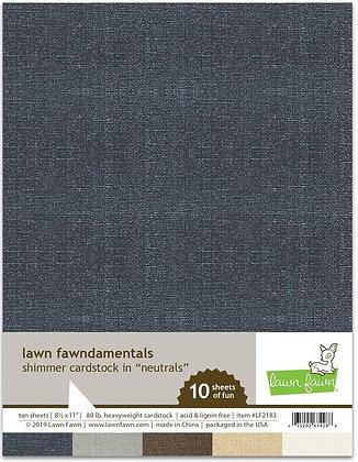 Shimmer Cardstock - gemstone