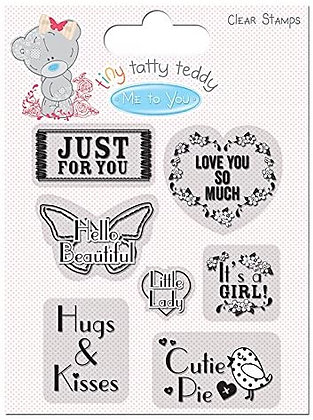 Tiny Tatty Teddy Clear Stamps