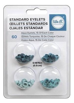 Eyelets Standar Aqua