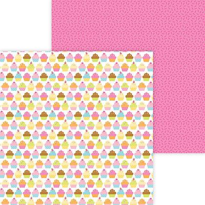 Hey Cupcake Pattern Paper