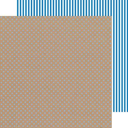 Blue Jean Dot/ Stripe