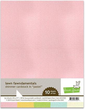 Shimmer Cardstock - Pastel