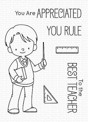 Favorite Teacher Stamps