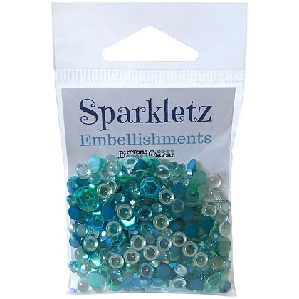 Sparkletz Embellishment Pack 10g Sea Level