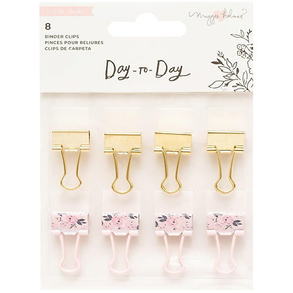 Maggie Holmes Day-To-Day Planner Binder Clips 8/Pkg