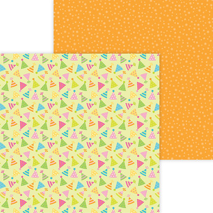 Hip Hip Hooray Pattern Paper