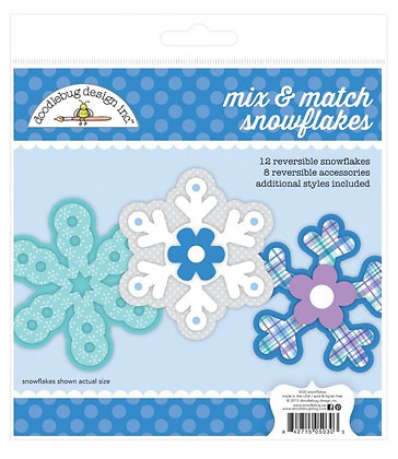 Mix & Match Snowflakes