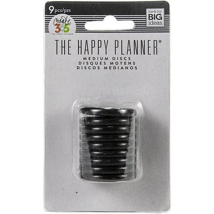 """Happy Planner Discs 1.25"""" 9/Pkg"""