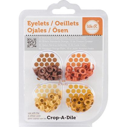 We R Eyelets Standard 60/Pkg Orange