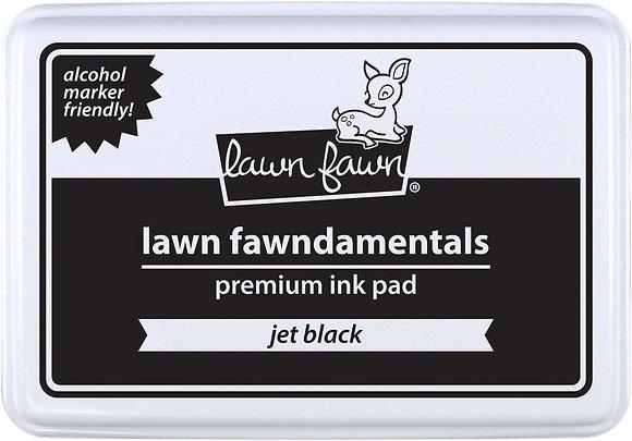 Jet black ink pad