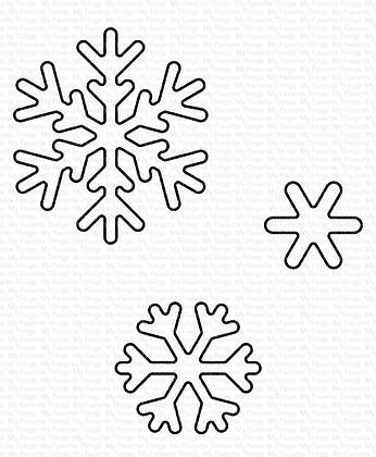 Sweet Snowflakes Die-namics WS