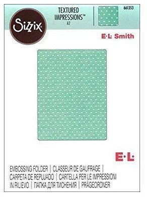 Sizzix Textured Impressions Embossing Folder - Dots