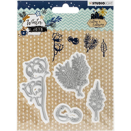 Studio Light Winter Joys Cutting & Embossing Die NR.226