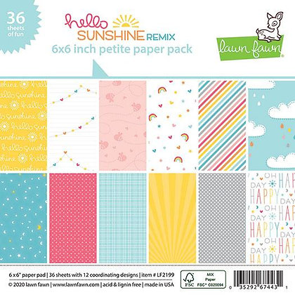 Hello sunshine remix paper pack