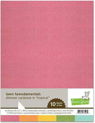 Shimmer Cardstock - Tropical