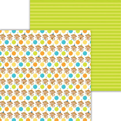 Monkeying Around Pattern Paper