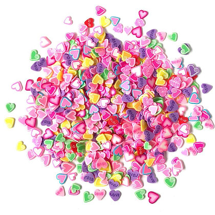 Sprinkletz Embellishments 12g Candy Hearts