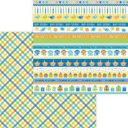 Party Boy Pattern Paper