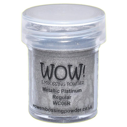 WOW! Embossing Powder 15ml Platinum