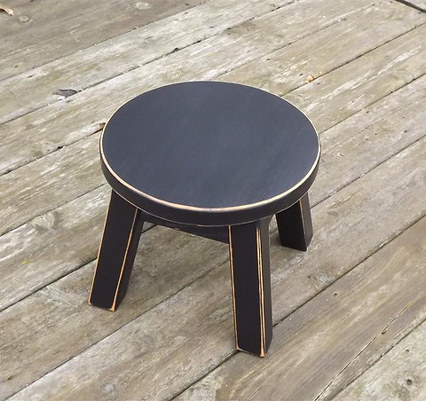 Terrific Wood Step Stool Round Top 8 10 High Colors Andrewgaddart Wooden Chair Designs For Living Room Andrewgaddartcom